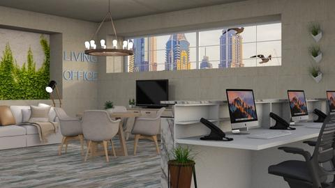 living office wall - Office - by its_eima