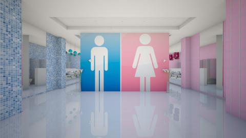 public toilet - Modern - Bathroom - by sometimes i am here