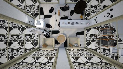 panda - Living room - by Mary1999