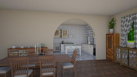 Shabby Chic Kitchen - Classic - Kitchen - by petersohn