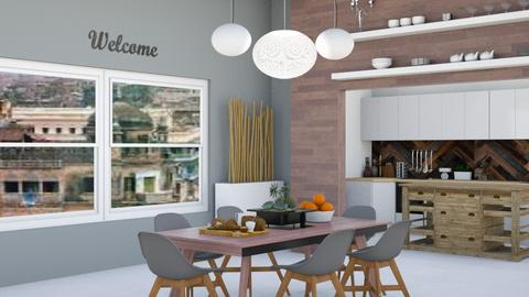 Scandinavian Design 2 - Kitchen - by abbyt94
