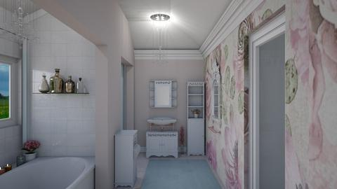shabby chic bathroom - Bathroom - by Phospective