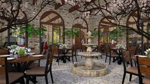 Design 362 Al Fresco Business Dining - Dining room - by Daisy320