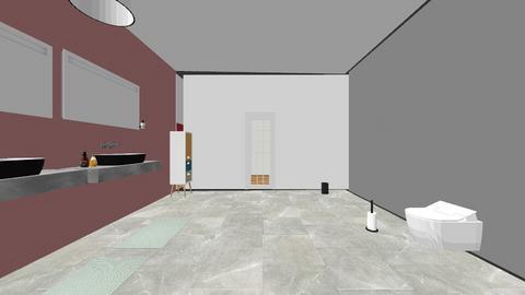 ella haar droomhuis - Bathroom - by NoraPauwels