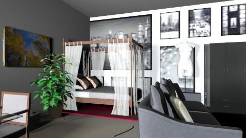 Normal bedroom - Bedroom - by brandi delgado