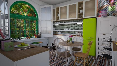 eclectic kitchen - Eclectic - Kitchen - by donella