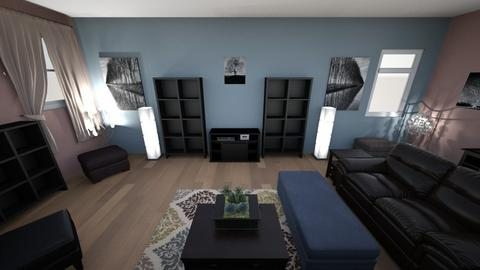 Contemporary Living Rm 2 - Living room - by lioness006