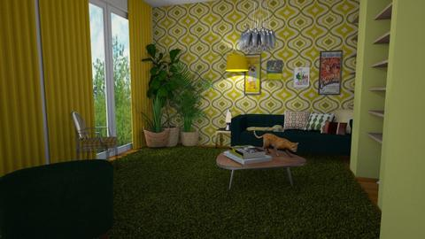 Blast to the Past - Retro - Living room - by aq123