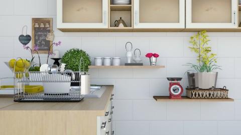Cozy small kitchen - Kitchen - by Mihailovikj Mimi