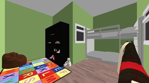 Little Boys Room - Kids room - by epsepeterson06
