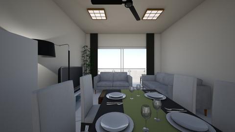 Apartment Design 2B - Modern - by Brian9