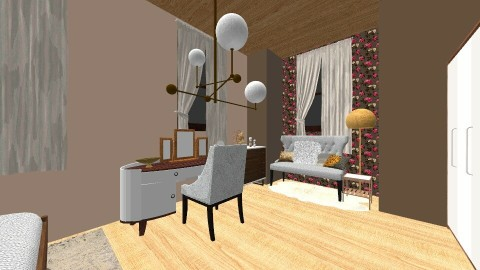 Brown_Vintage_Modern  - Modern - by Kristiyana Stoyanova