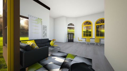 It is all about yellow - Living room - by linnda123222