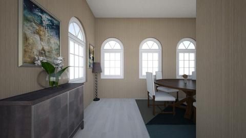 Tandas Dining Room - Rustic - Dining room - by SmithFACS