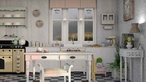 Pickled Pink - Rustic - Kitchen - by Roquette
