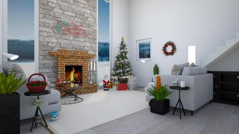 O Christmas Tree - Living room - by Isaacarchitect