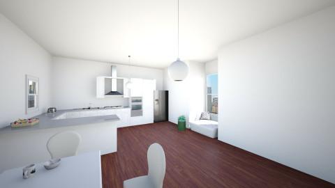NYC apartment - Kitchen - by designer2001