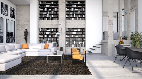 Concrete - Living room - by Lizzy0715