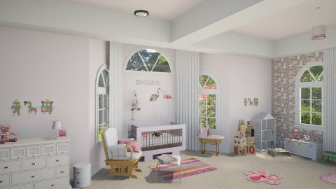 Nursery - Kids room - by Linda Koen_326