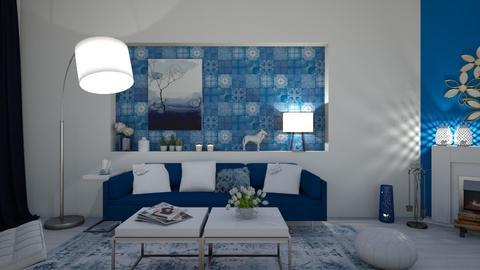 blue - by mariecap