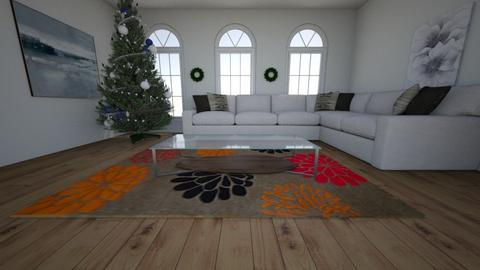 christmas - Living room - by AnaP2004