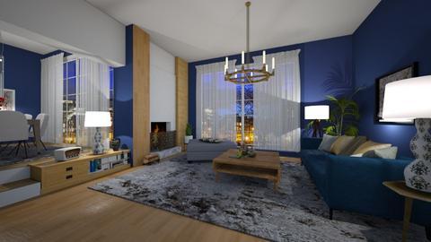 Mid - Living room - by nanabpf