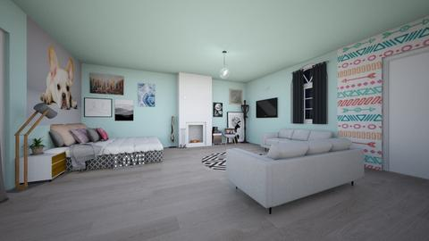 Modern Apartment  - by Jenna the great