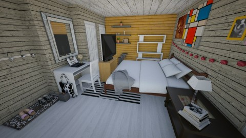 Bedroom redesign - Modern - Bedroom - by Molly_girl