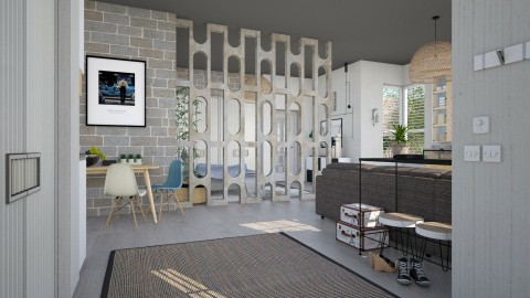 Room Divider - Living room - by evahassing