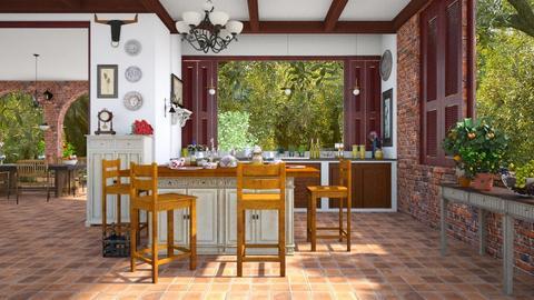olivar - Kitchen - by lilica
