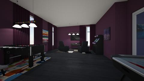 Template 2019 living room - Modern - Living room - by Ohtoe