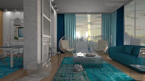 transparent interior - by Senia N