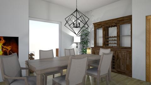 begin fons met keuken - Living room - by Chiara 17