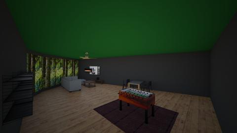 litle cabin in the woods - by gangstawars
