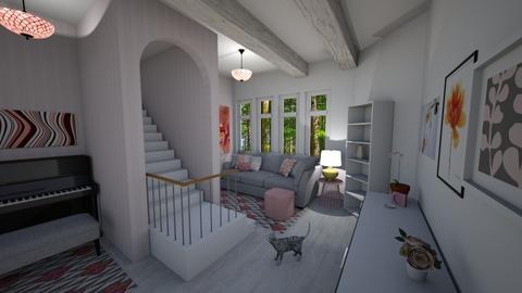 Stripes - Living room - by PenAndPaper