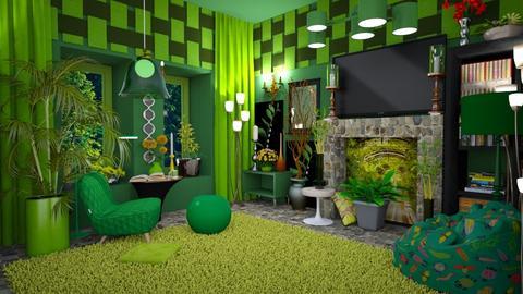 watch a movie  - Living room - by eva adil