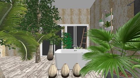 Urban Jungle bathroom  - Bathroom - by lashim