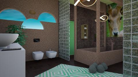 jungle bath - Bathroom - by zayneb_17