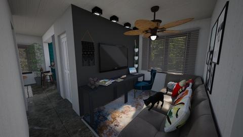 casa do gabriel salatv - Living room - by jupitervasconcelos