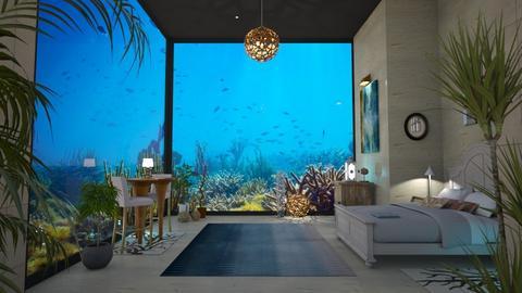 under water hotel - by Bren123