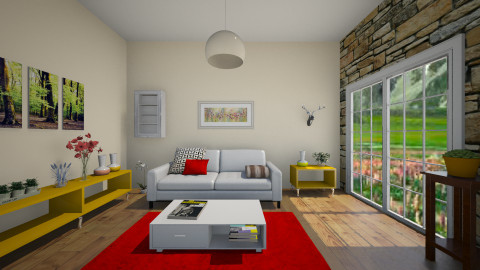 spring is in town  - Modern - Living room - by jana krstic