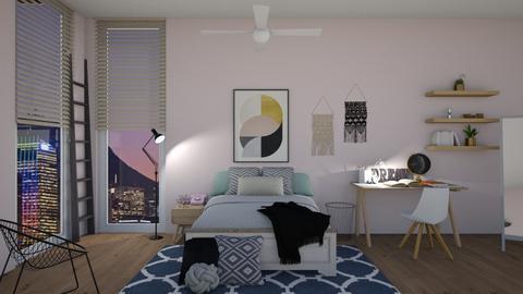 Teenage Room - Bedroom - by cutebaxter123