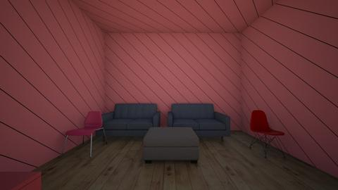 RED DAY - Living room - by the black ninja