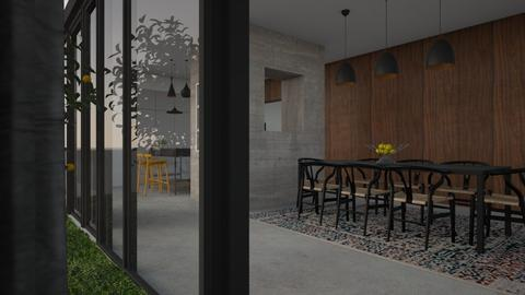 Dining room - Minimal - Dining room - by Annathea