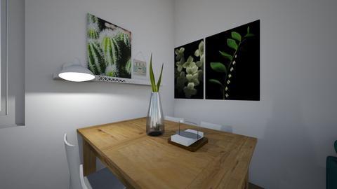 Pani Monika - Living room - by mag_ja