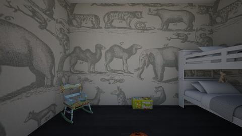 safari kids room  - Kids room - by elizabethharloff