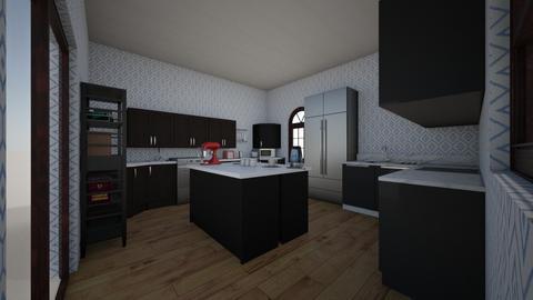 black ice - Modern - Kitchen - by cupcake oncer