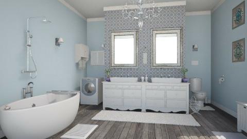 old lady - Classic - Bathroom - by Sali15