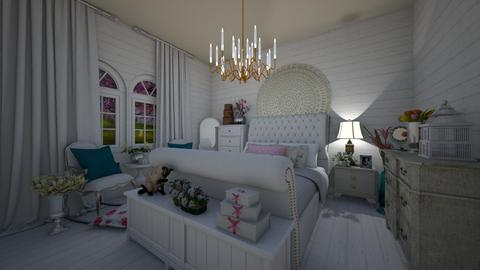 Shaby Chic Cuarto1 - Bedroom - by Teresa Valdes Beso