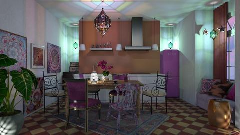 Boho kitchen - Kitchen - by chania